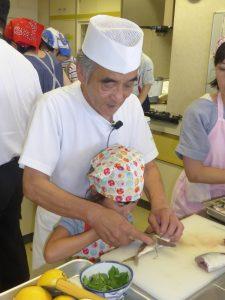 2017年 夏休み『親子お魚料理教室』