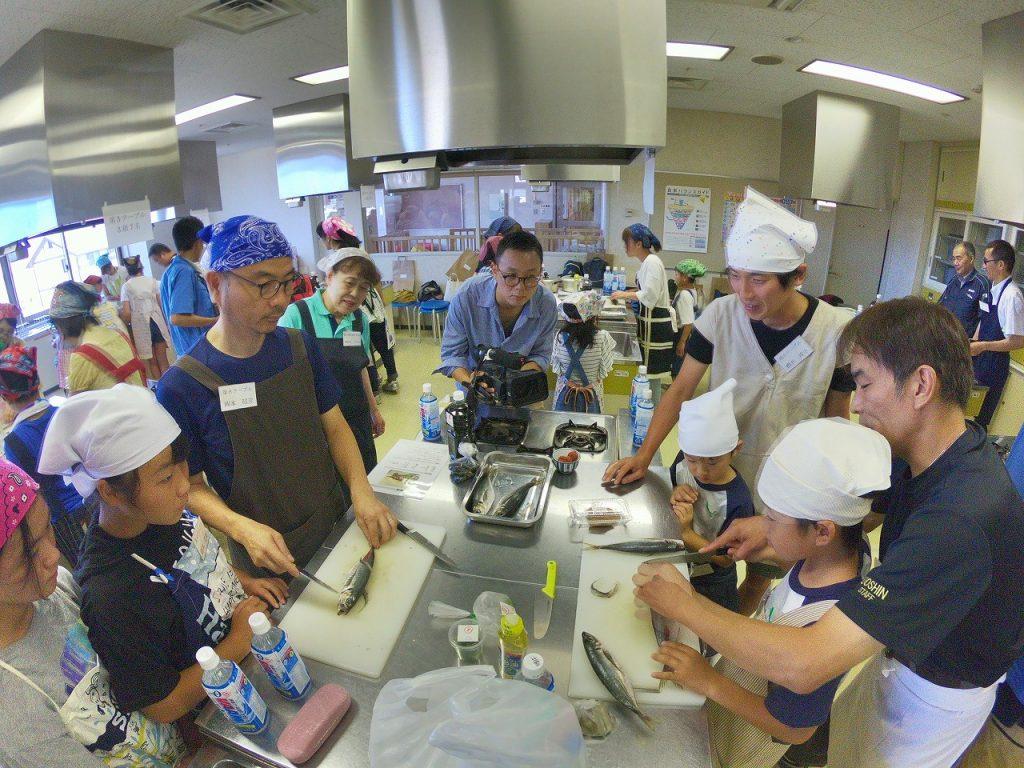親子お魚料理教室08