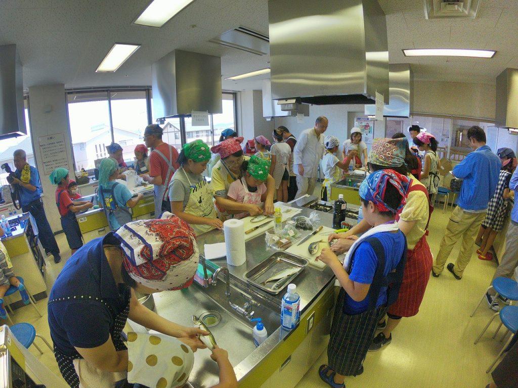 親子お魚料理教室09