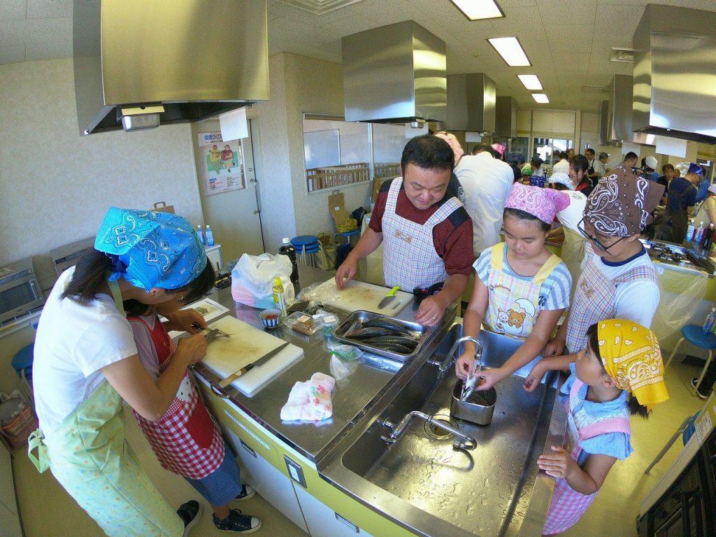 親子お魚料理教室10
