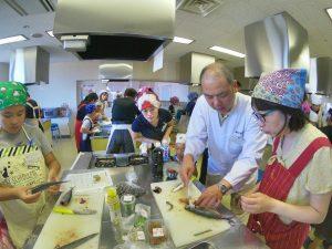 親子お魚料理教室12