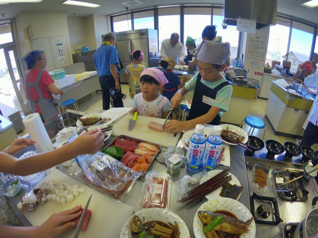 親子お魚料理教室13