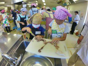 親子お魚料理教室15