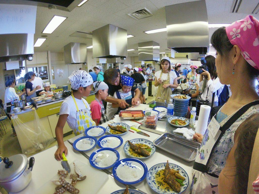 親子お魚料理教室16