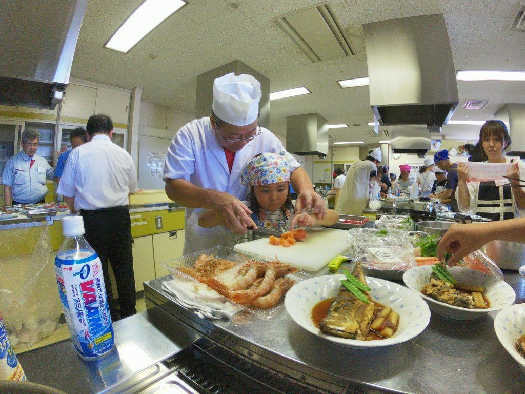 親子お魚料理教室17