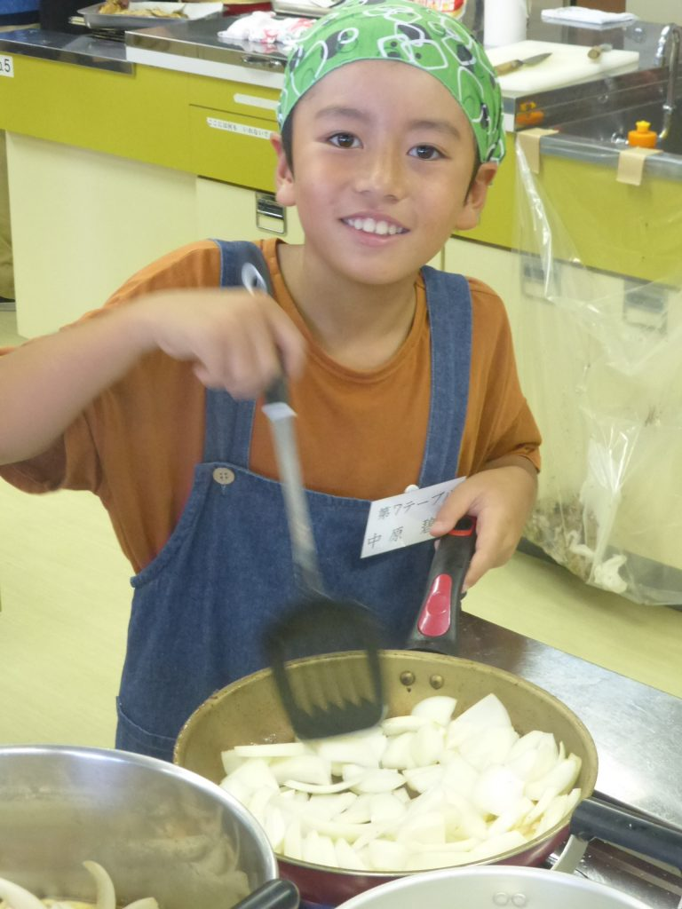 2019年 夏休み『親子お魚料理教室』